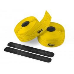Owijka na kierownicę SELLE ITALIA GRAN FONDO gr.2,5mm żelowa żółta