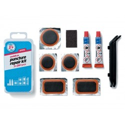 Łatki do opon zestaw WELDTITE AIRTITE PUNCTURE REPAIR KIT FAT TYRES 5x łatki + 2x łyżki do opon