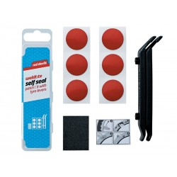 Łatki do opon zestaw WELDTITE PUNCTURE RED DEVILS SELF SEAL PATCH KIT 6x łatki samoprzylepne + 2x