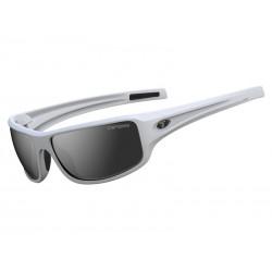 Okulary TIFOSI BRONX matte white 1szkło Smoke 15,4 transmisja światła