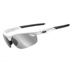 Okulary TIFOSI VELOCE FOTOTEC matte white 1szkło Smoke FOTOCHROM 47,7-15,2 transmisja światła