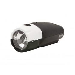 Lampka przednia SPANNINGA GOMA XB + baterie czarna