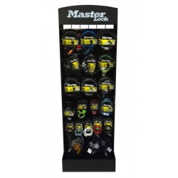 Display MASTERLOCK DISPLAY metalowy display + 50 sztuk zapięć