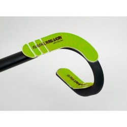 Wkładki żelowe BIKE RIBBON GEL PAD FIRM super miękkie, zielone, 2x proste, 2x wykręcone