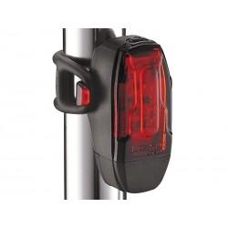 Lampka tylna LEZYNE LED KTV DRIVE 7 lumenów, usb czarna