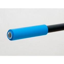 Chwyty kierownicy BIKE RIBBON SIO2 SOFT GRIP 130mm 70gram silikon niebieskie