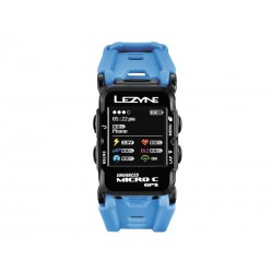 Komputer rowerowy LEZYNE GPS Watch Color, cyan