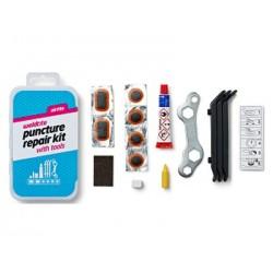 Łatki do dętek zestaw WELDTITE AIRTITE PUNCTURE 6x łatki + klucz pudełko 10szt.