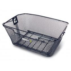 Kosz na tylny bagażnik BASIL CAPRI Bottom hooks, stalowy czarny