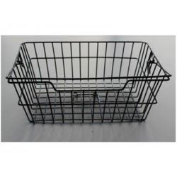 Kosz na tylny bagażnik BASIL BASKET-3 Bottom hooks, stalowy czarny