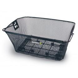 Kosz na tylny bagażnik BASIL COMO Carrier clamp on max.16 mm, stalowy czarny