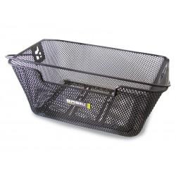 Kosz na tylny bagażnik BASIL CAPRI FLEX Bottom hooks, stalowy czarny