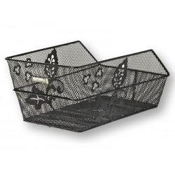 Kosz na tylny bagażnik BASIL CENTO FLOWER Mounting set for CENTO basket, stalowy czarny
