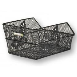 Kosz na tylny bagażnik BASIL CENTO FLOWER S Mounting set for CENTO basket, stalowy czarny