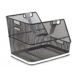 Kosz na tylny bagażnik BASIL CLASS Bottom hooks, stalowy czarny