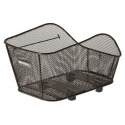 Kosz na tylny bagażnik BASIL ICON M WSL-system, stalowy czarny