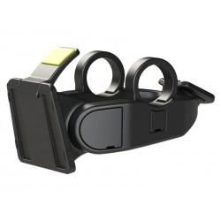 Mocowanie zapięcia BASIL BasEasy Handlebar Holder do koszy moc.22-31,8mm, regulowany kąt, system