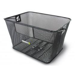 Kosz na tylny bagażnik BASIL CONCORD XL FLEX Bottom hooks, stalowy czarny