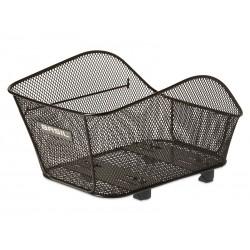 Kosz na tylny bagażnik BASIL ICON S WSL-system, stalowy czarny