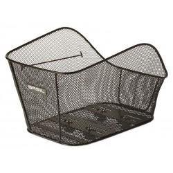 Kosz na tylny bagażnik BASIL ICON L WSL-system, stalowy czarny