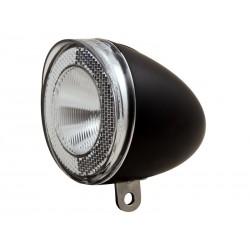 Lampka przednia SPANNINGA SWINGO XB + baterie czarna