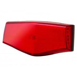 Lampka tylna SPANNINGA PLATEO XBA + baterie