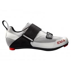 Buty triathlonowe FIZIK K5 UOMO srebrno-białe roz.43