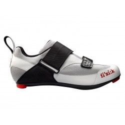 Buty triathlonowe FIZIK K5 UOMO srebrno-białe roz.44,5