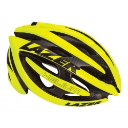 Kask szosa LAZER HELIUM M flash yellow roz.54-56 cm