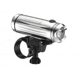 Lampka przednia LEZYNE LED POWER DRIVE XL 475 lumenów, usb srebrna