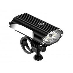 Lampka przednia LEZYNE LED MEGA DRIVE 1200 lumenów, usb czarna