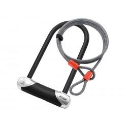 Zapięcie rowerowe MAGNUM 3102 U-LOCK - 13mm 115mm 230mm - 5 x Klucze z kodem + linka 10mm 120cm